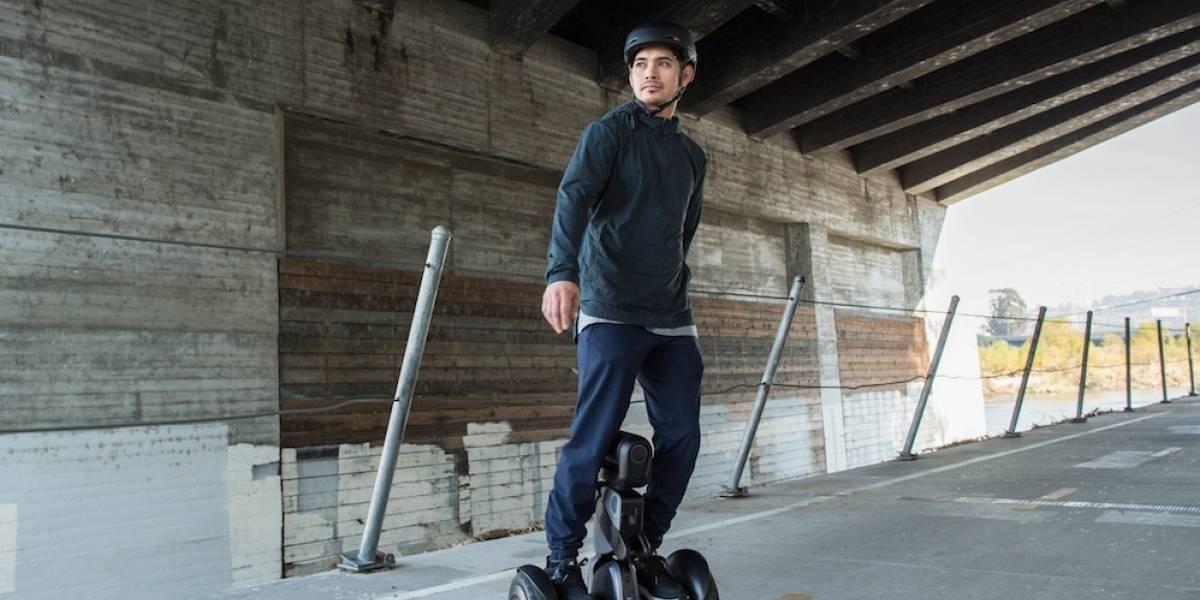 Este robot en forma de segway puede llevarte a donde sea