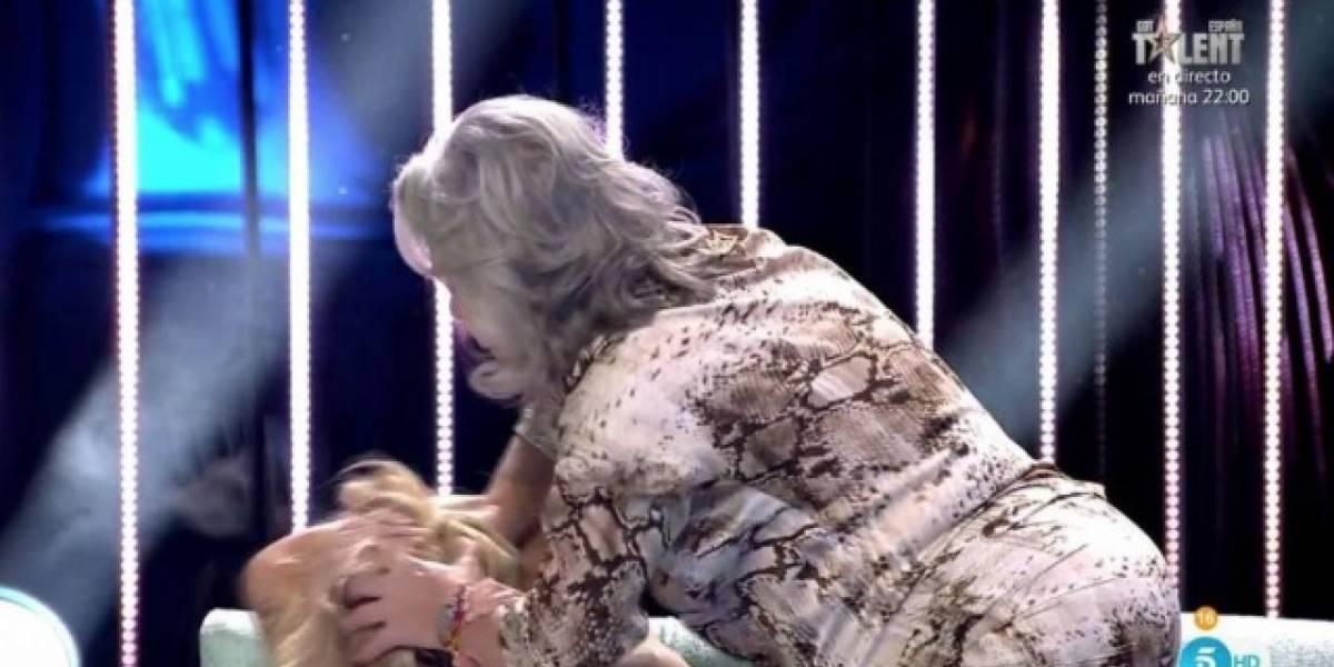 Oriana Marzoli lo hizo de nuevo: La chica reality fue mechoneada en programa español