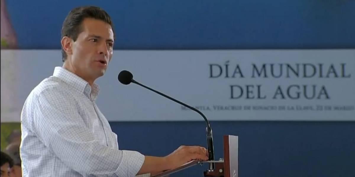 Más de 14 millones de mexicanos accedieron al agua potable este sexenio: Peña Nieto