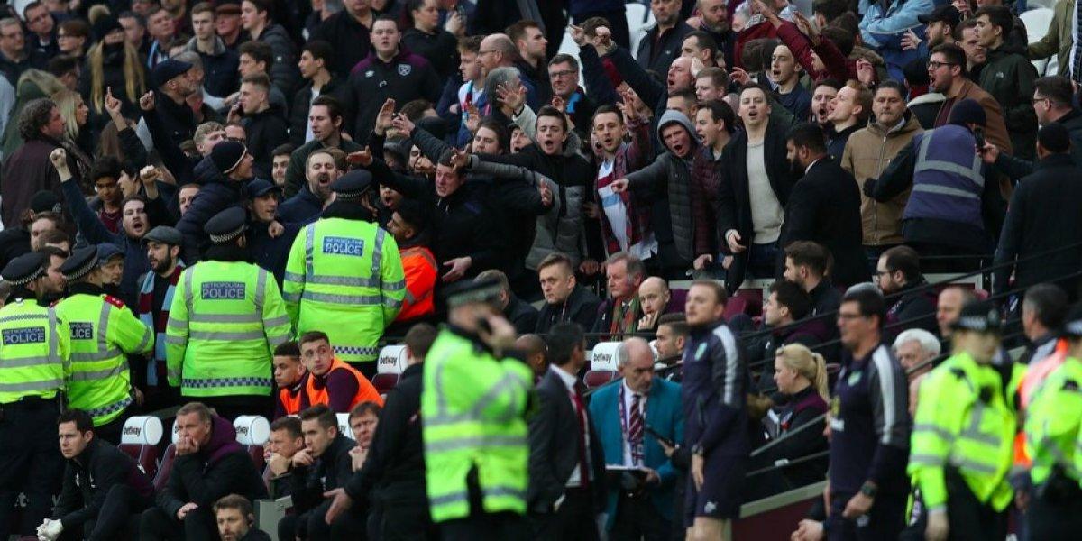 West Ham expulsa de por vida a cinco de sus aficionados