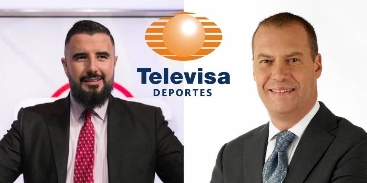 André Marín y Álvaro Morales llegarían a Televisa para el Mundial
