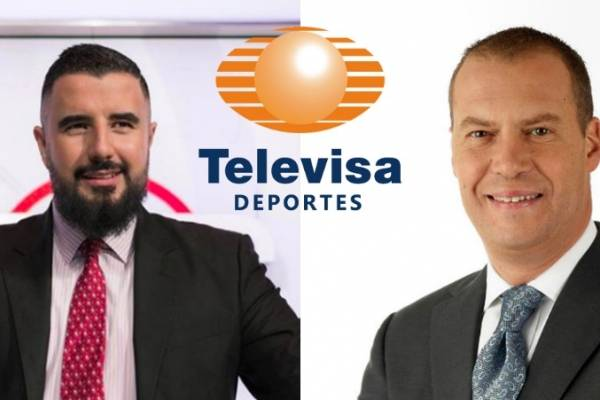 Álvaro Morales y André Marín
