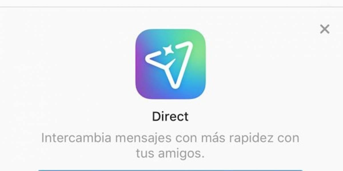 Instagram inicia el despliegue de su nueva app de mensajería Direct