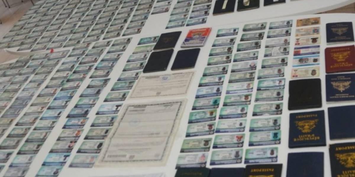 Migración decomisa más de 300 carnés alterados en Dajabón y Santiago