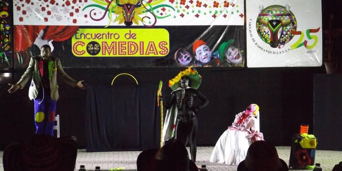 Los barranquilleros disfrutarán de la primera noche de comedias de Carnaval