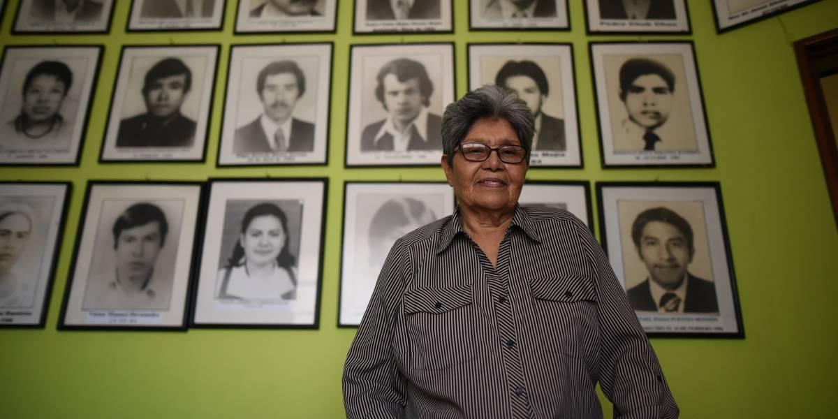 """""""No debemos tolerar a los corruptos ni a los ladrones"""", Aura Elena Farfán, activista"""