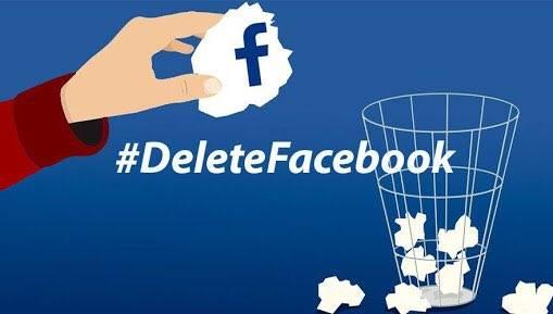 Movimiento #DeleteFacebook suma ya miles de seguidores en Twitter