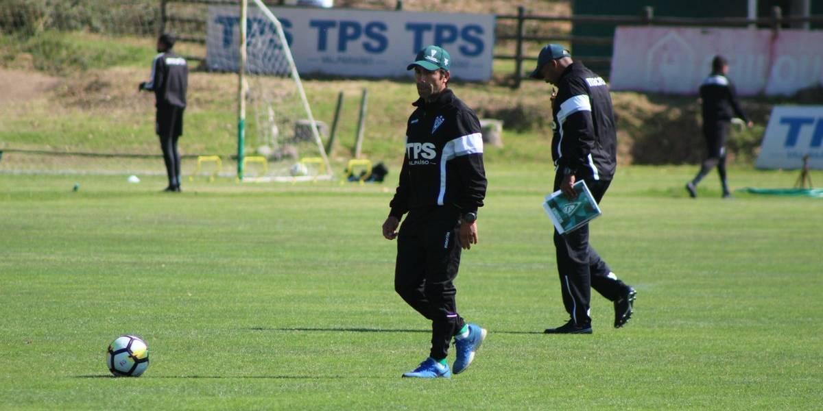 """Moisés Villarroel la cantó clarita en Wanderers: """"Esto será correr, meter, entregarse y luchar"""""""