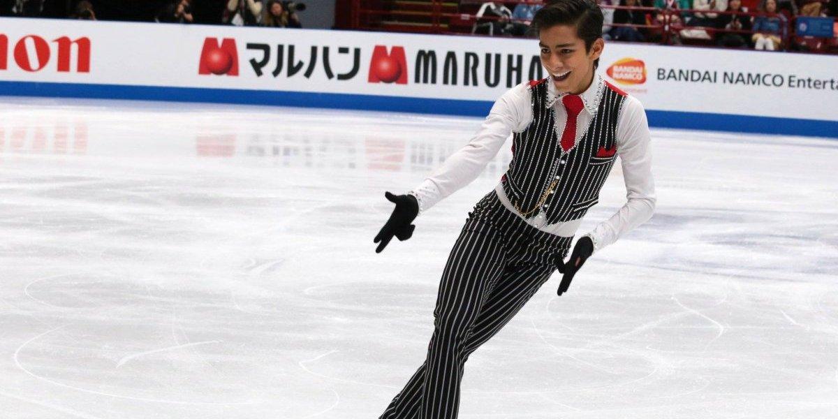 Donovan Carrillo, primer patinador mexicano en clasificar a la final de un Mundial