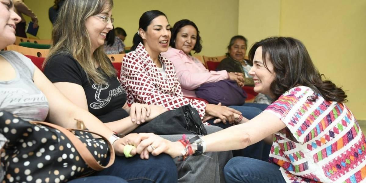 Juana Cuevas de Meade reconoce la labor del voluntariado