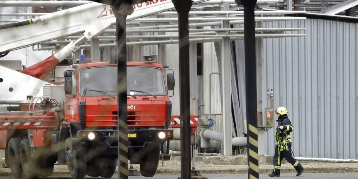 Tragedia por explosión en planta química de la República Checa