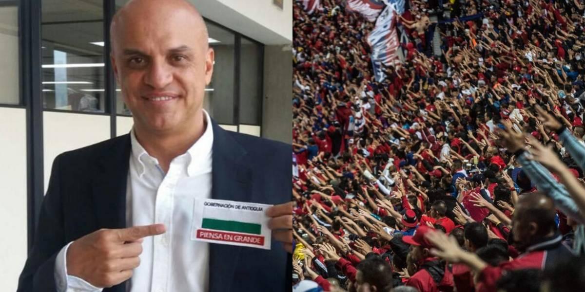 Presidente de Independiente Medellín fue amenazado por barras bravas
