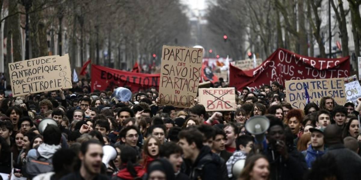 FOTOS. Protestas masivas en Francia contra reformas de Macron