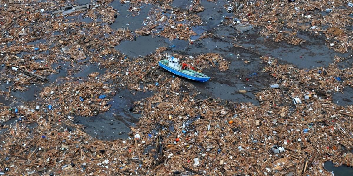 Increíble isla de basura acuática es tres veces más grande que Ecuador