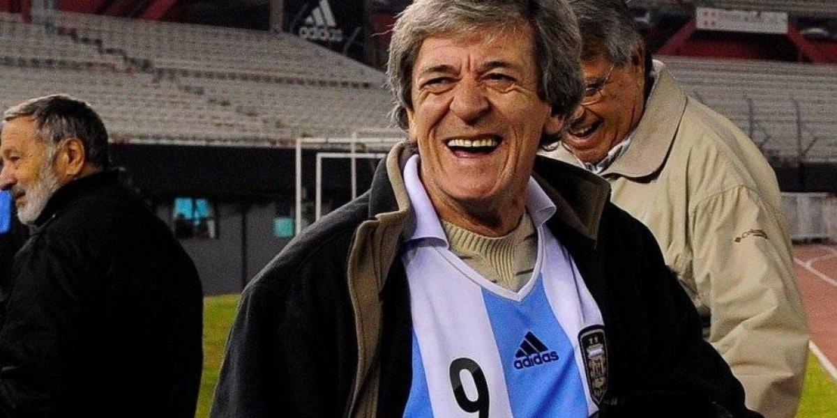 Murió René Houseman, ex campeón del mundo con Argentina y que jugó en Colo Colo en 1982