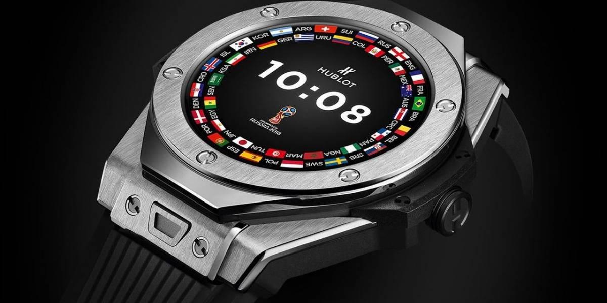 Los árbitros del Mundial de Rusia 2018 usarán el nuevo reloj con Wear OS de Hublot