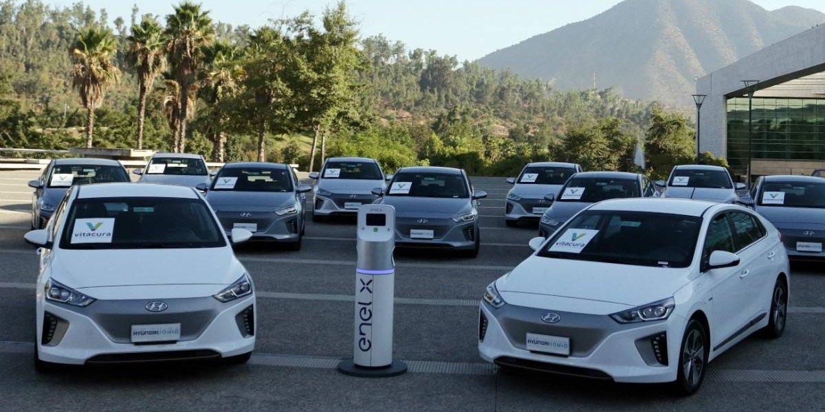 Vitacura elige Hyundai Ioniq eléctricos para su flota municipal