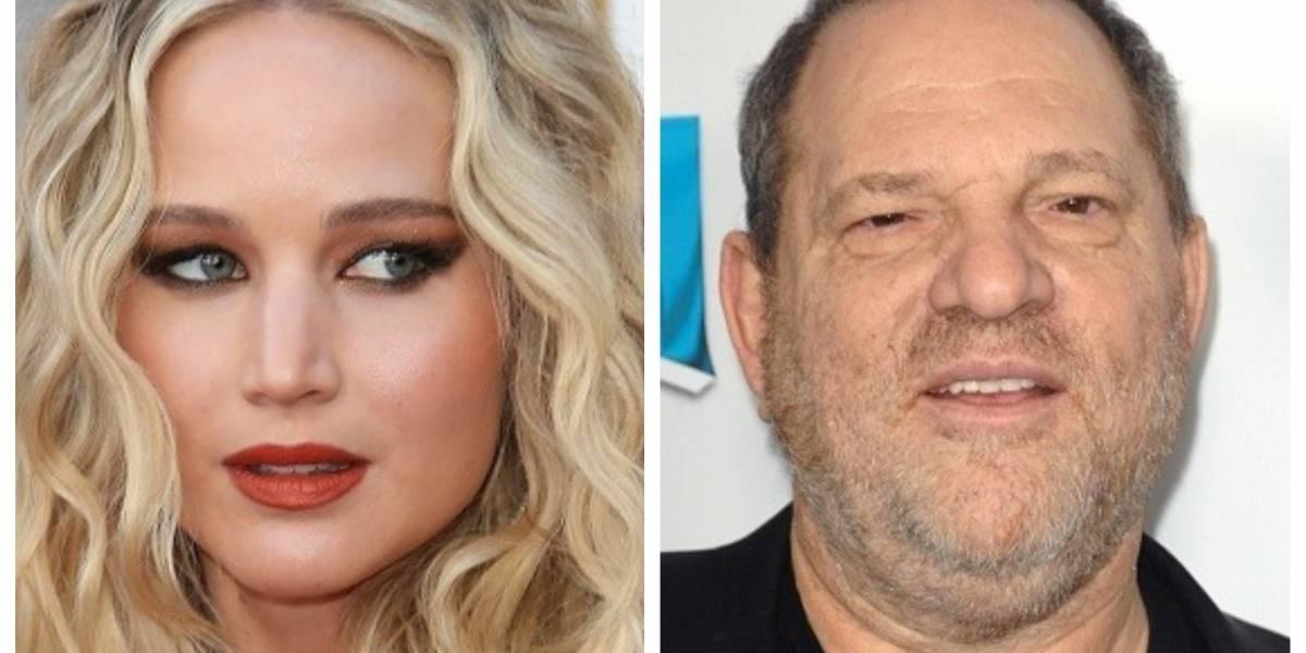 Aseguran que Jennifer Lawrence tuvo un romance con Harvey Weinstein