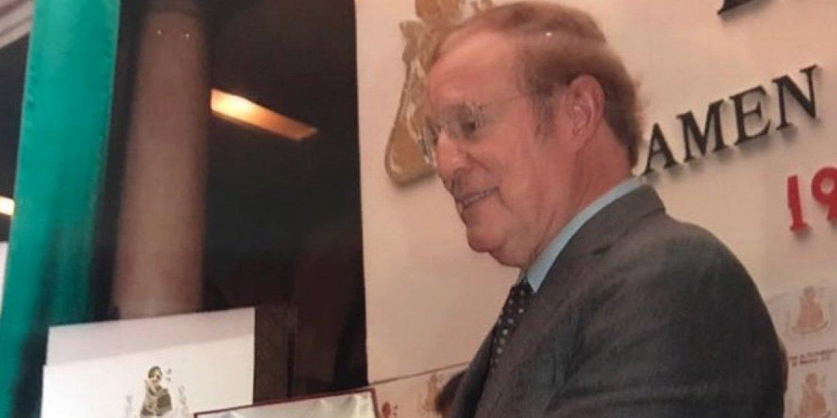 José Ramón Fernández recibe el Premio Nacional de Periodismo