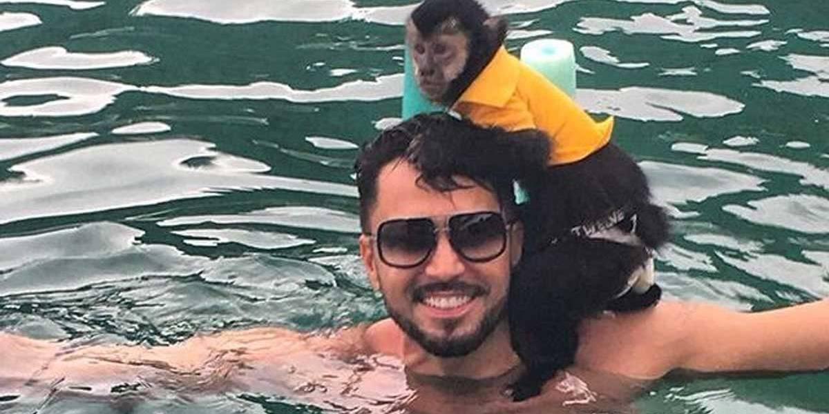 Cremação do macaco de Latino é exibida pelo Instagram