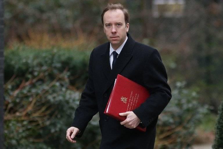Matt Hancock, ministro de Cultura británico