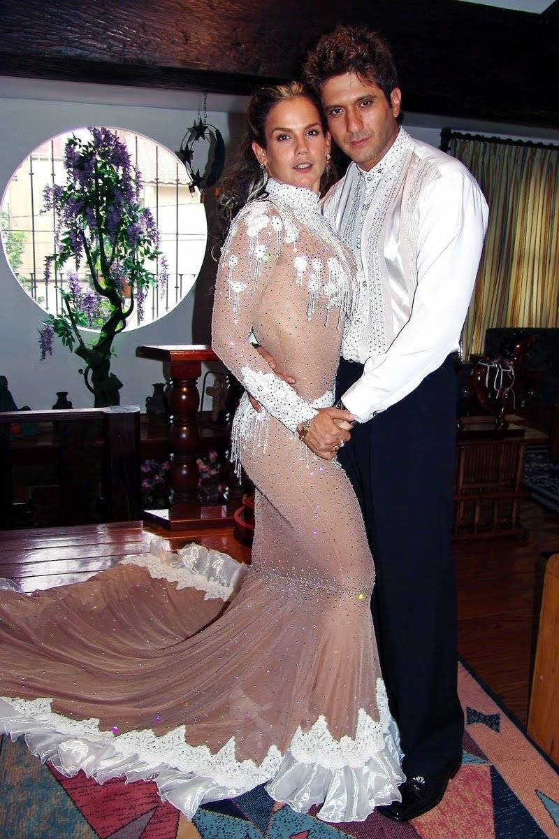 Niurka y Bobby el día de su boda