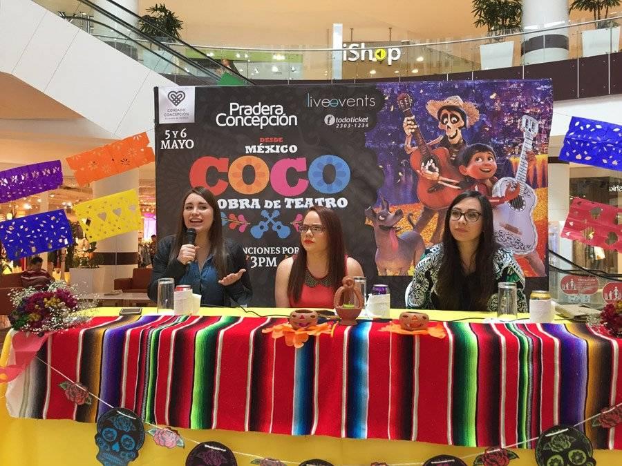 "Organizadores de ""Coco"""