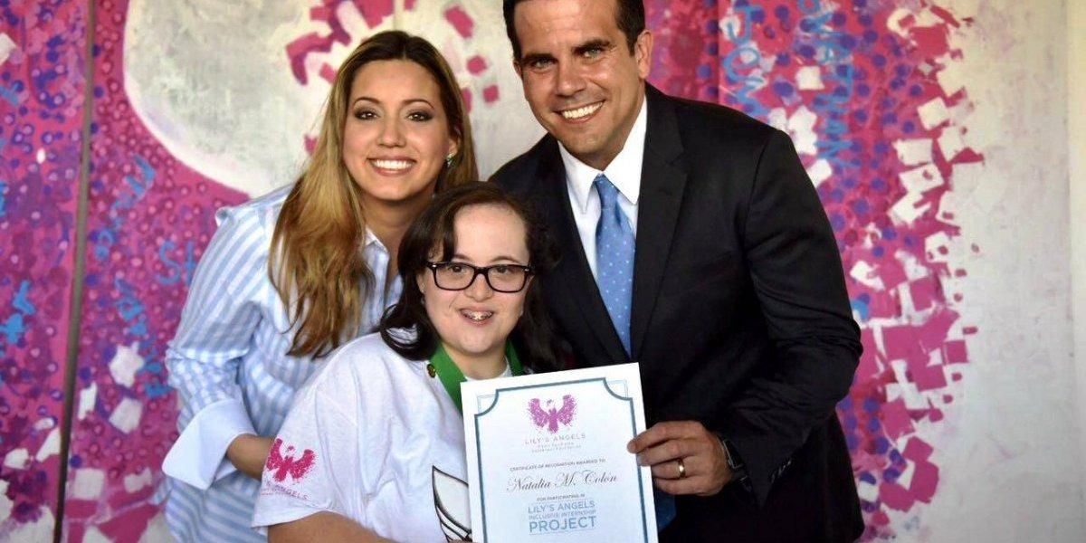 Gobernador y primera dama conmemoran Día Mundial del síndrome Down