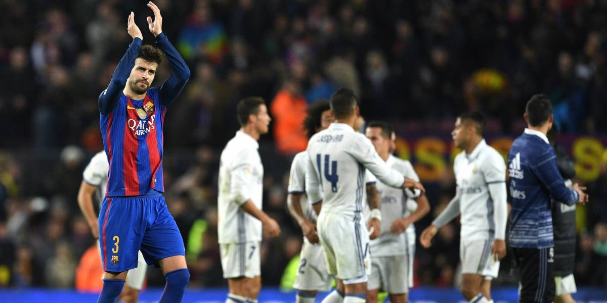 Revela Piqué el grupo de WhatsApp para reírse del Real Madrid
