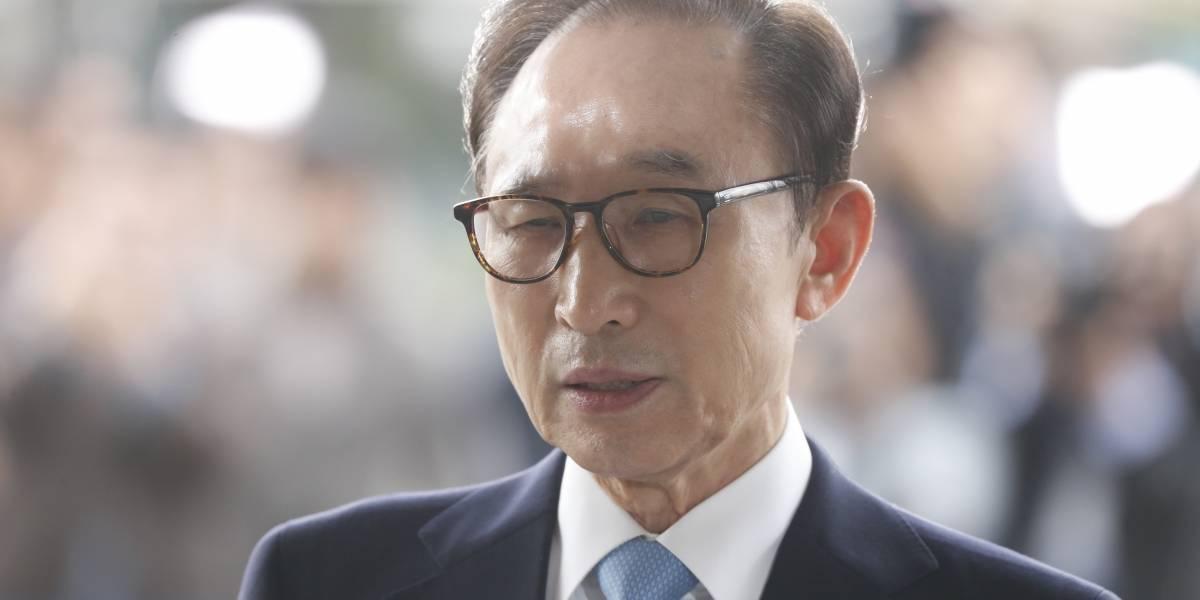 Corte de Corea del Sur ordena arresto del ex presidente Lee Myung-bak