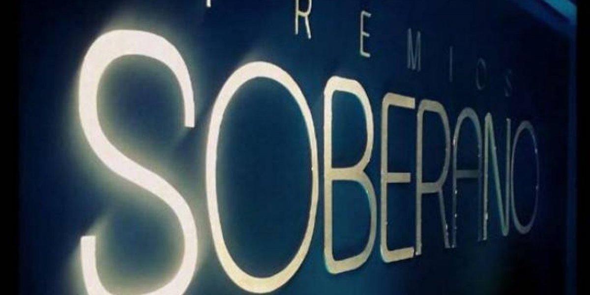 Premios Soberano alcanzó 54.8 por ciento de audiencia