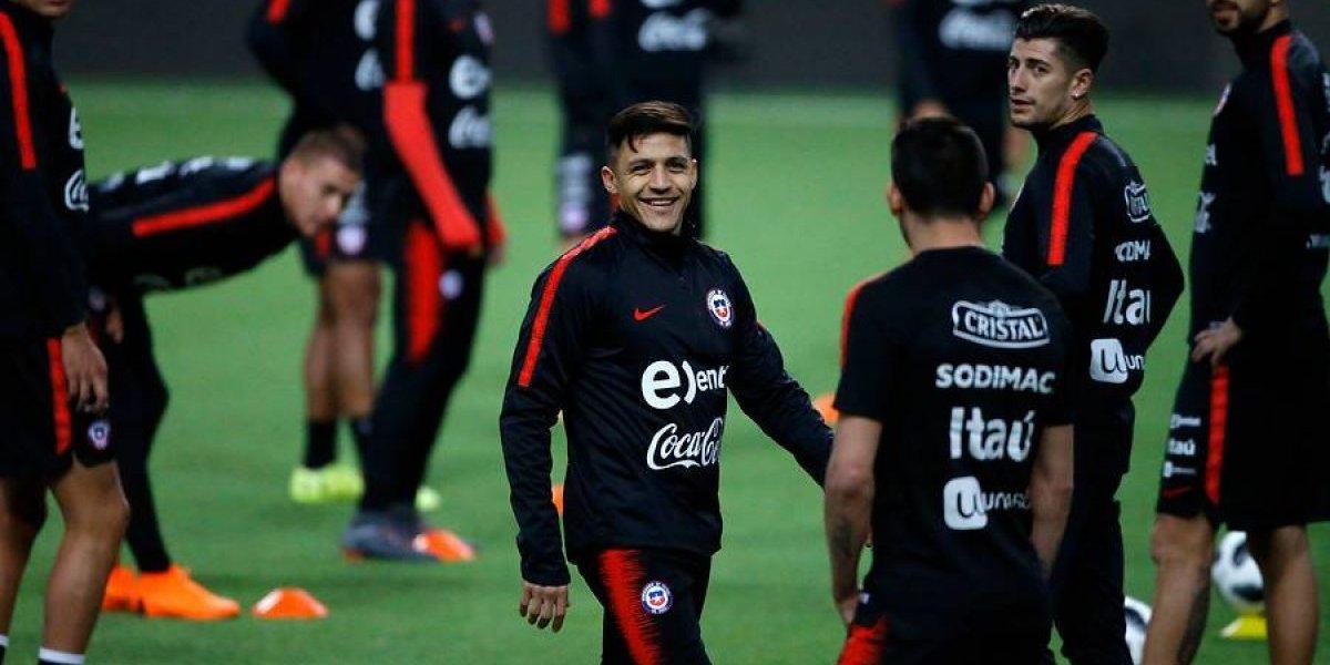 """La ultraofensiva """"nueva Roja"""" con Alexis de hombre 10"""