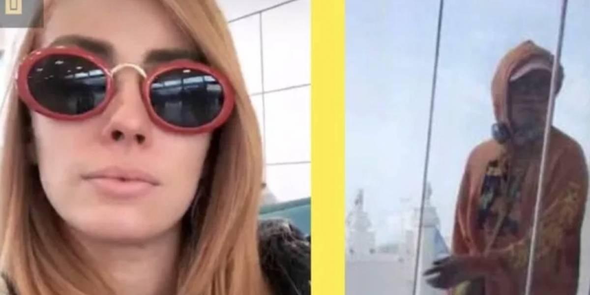 ¿En el mismo vuelo Natalia Rivera y Bad Bunny?