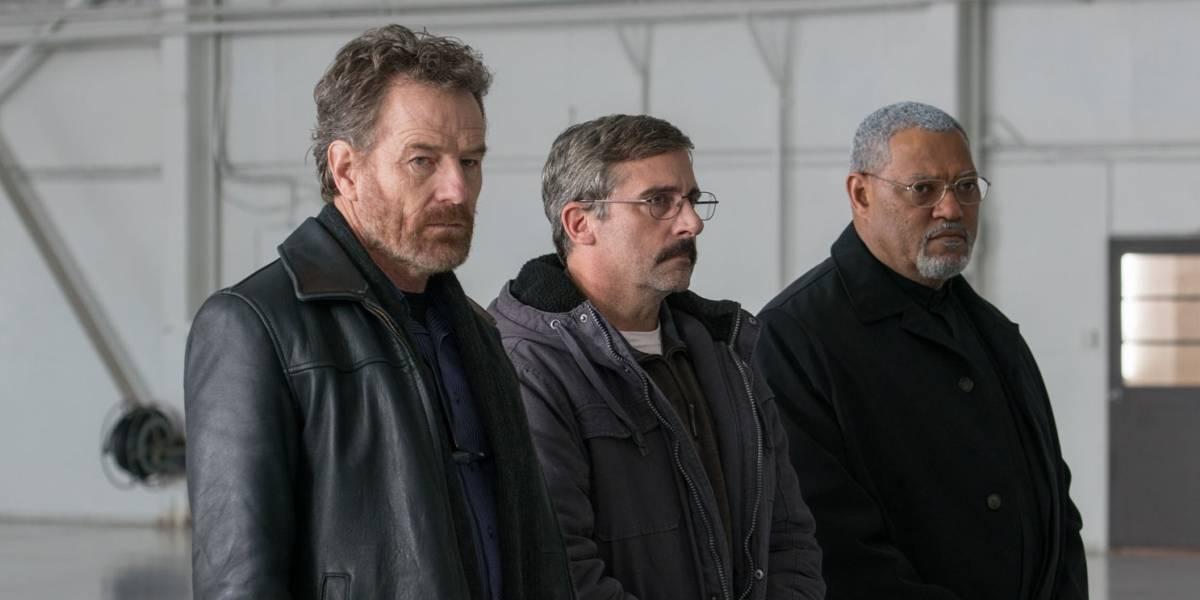 Steve Carrell e Bryan Cranston vivem veteranos de guerra no filme A Melhor Escolha