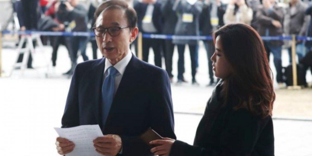 Tribunal surcoreano ordena arresto del expresidente Lee