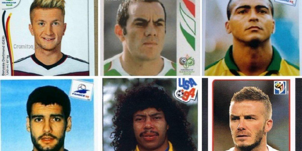 Futbolistas que aparecieron en el álbum del Mundial y no asistieron al torneo