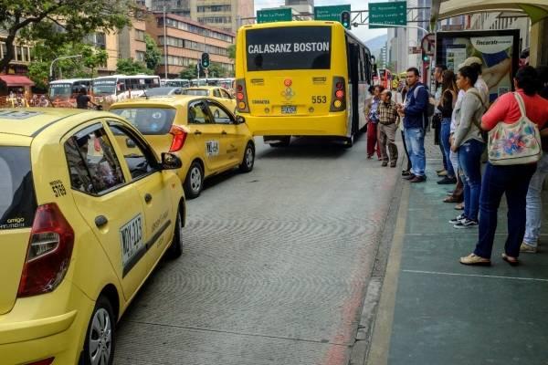 Sistema de transporte público Medellín