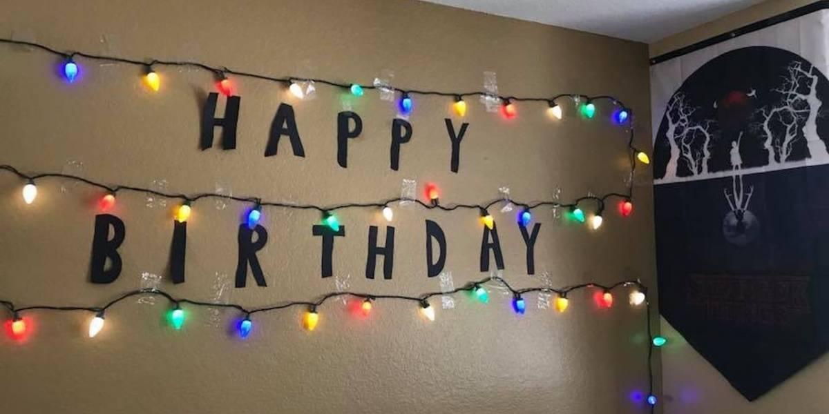 Actores de Stranger Things sorprenden a fan que fue plantado en su fiesta de cumpleaños