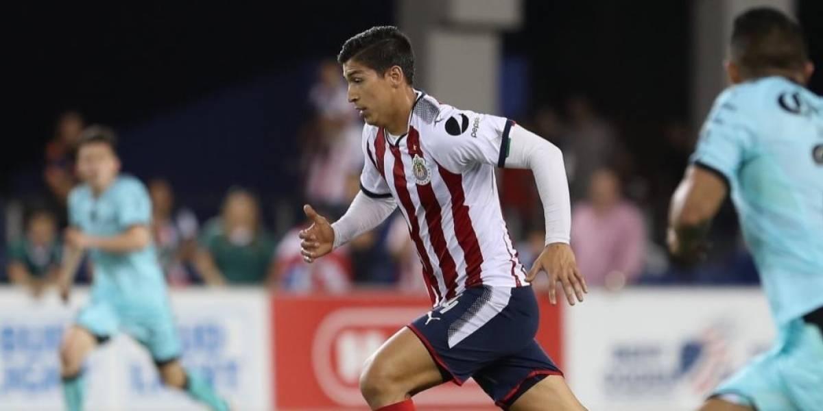 Alegra al delantero Zaldívar su reaparición con el Guadalajara