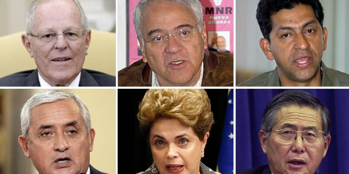 PPK y otros 5 presidentes de América Latina que no pudieron terminar sus mandatos por acusaciones de corrupción