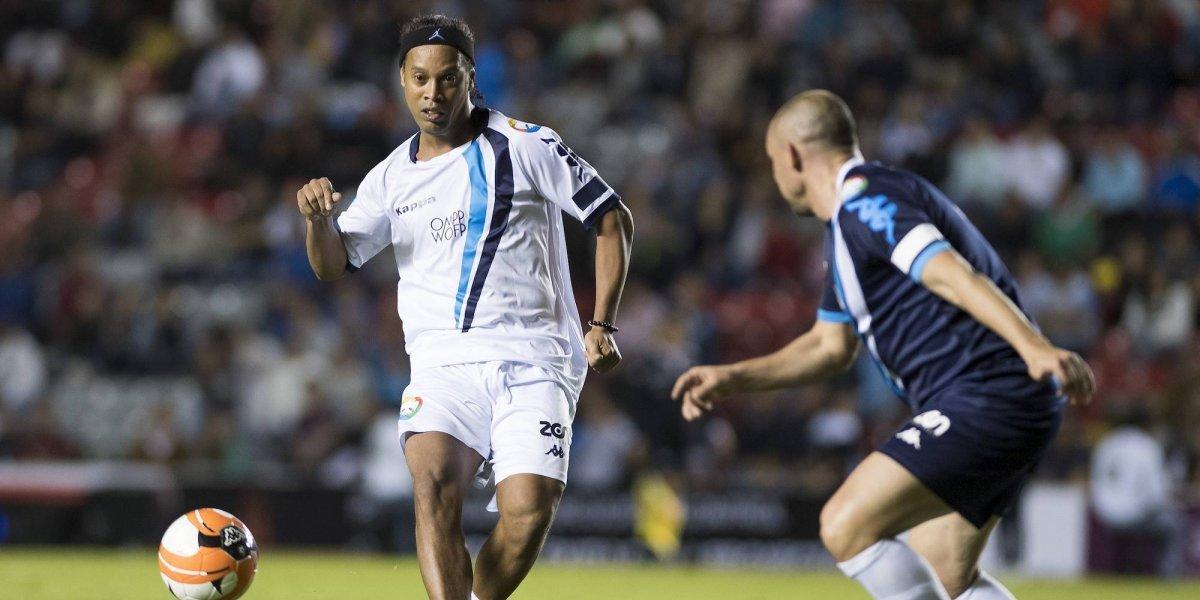 Ronaldinho volverá a dejar plantado al futbol mexicano