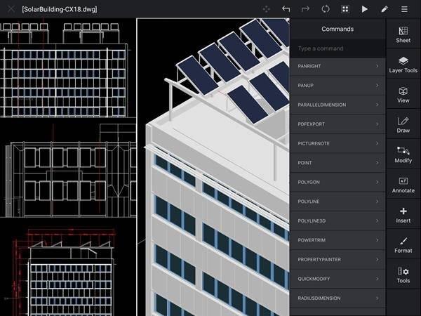 CorelCAD Mobile llega como una buena opción para ver planos desde tu celular
