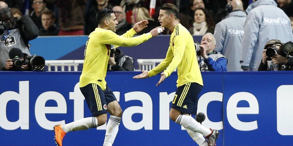 ¡Batacazo! Colombia lo dio vuelta y derrotó a Francia en amistoso