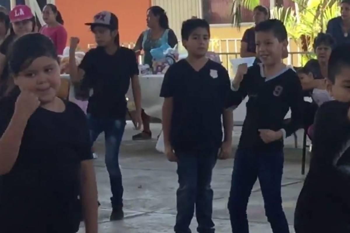 Niño se niega a bailar 'Scooby Doo Papa' en su escuela