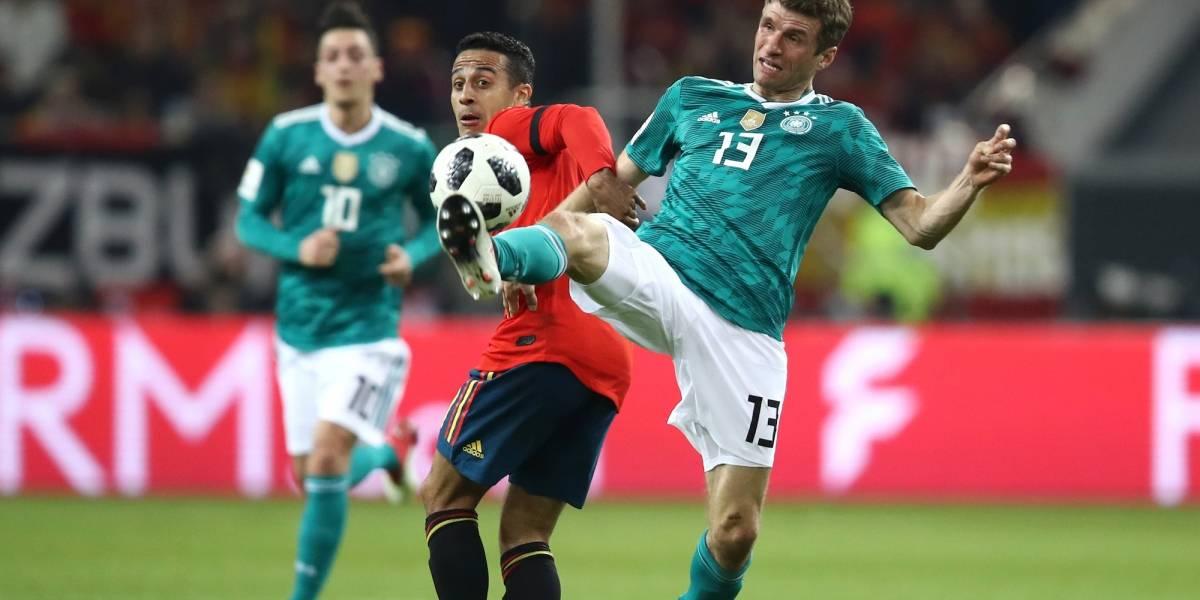 ¡Par de golazos! Alemania viene de atrás para empatar con España 1-1