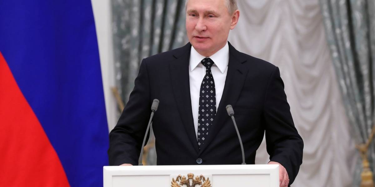 Putin, declarado vencedor de presidenciales en Rusia