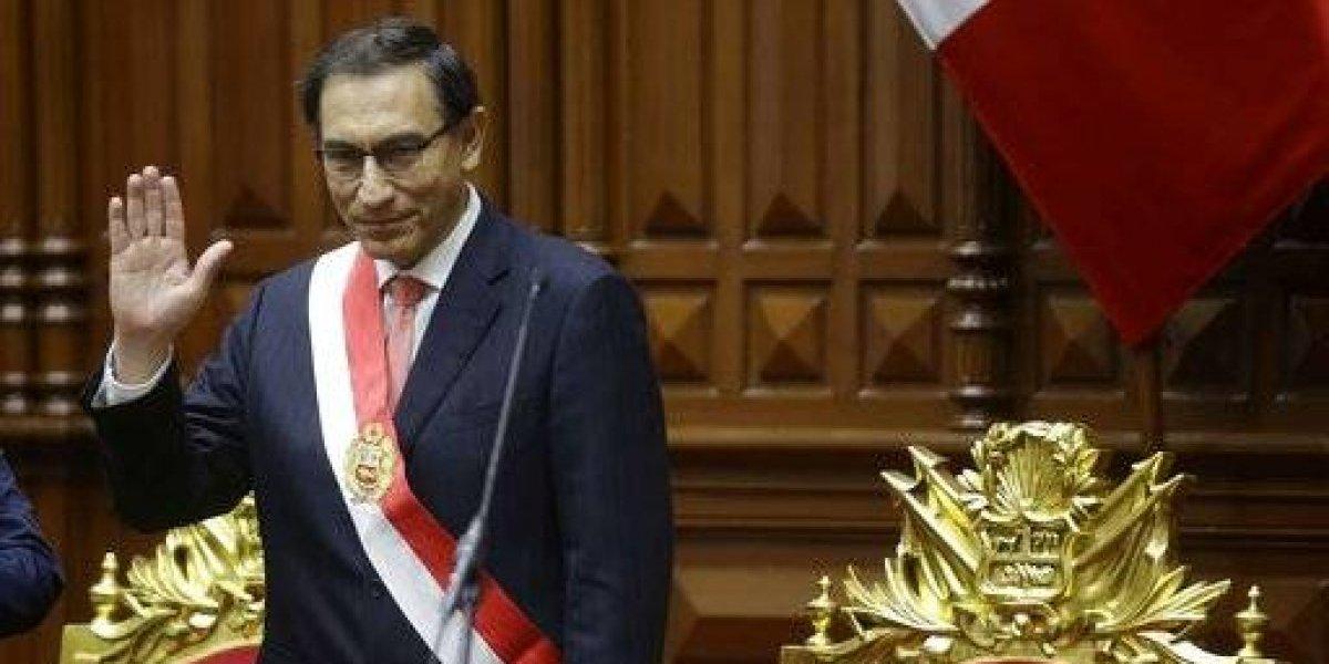 Comienza la era Vizcarra, ex embajador juramentó como nuevo presidente de Perú