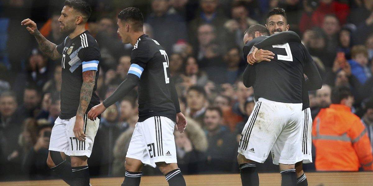VIDEO: Sin Messi, Lanzini sella con golazo el triunfo de Argentina ante Italia