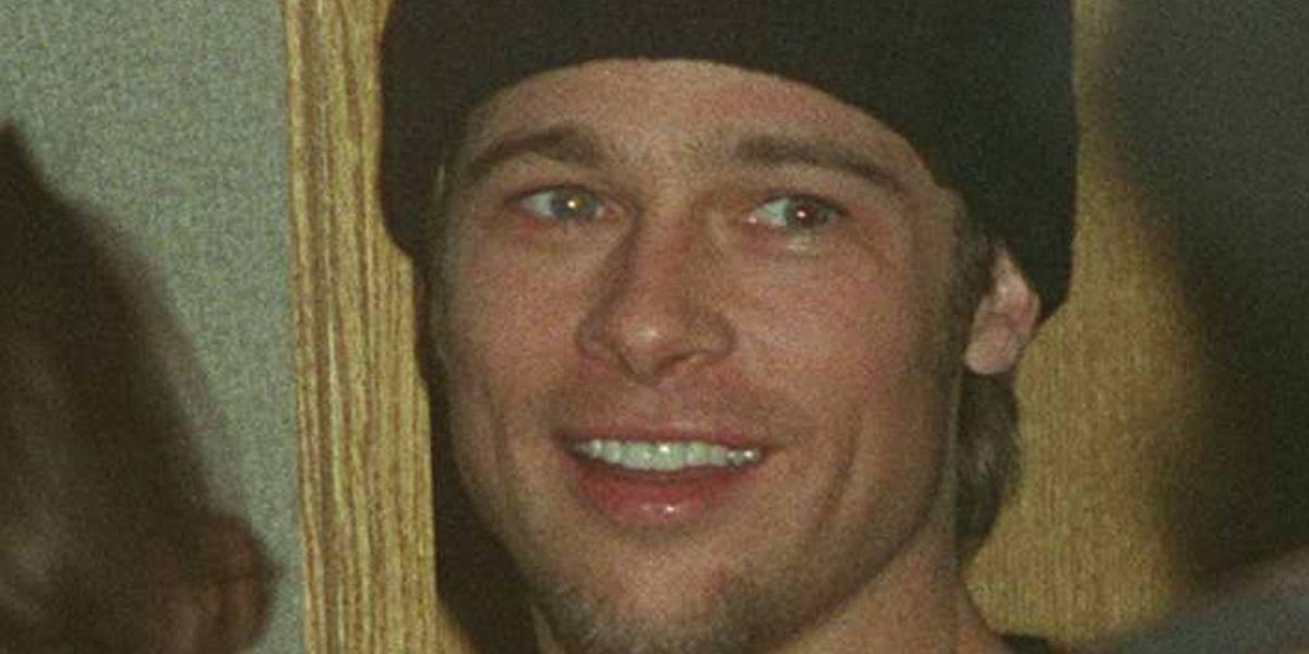Fotos nunca vistas de Brad Pitt aos 24 anos mostram fase em que 'ele mal tinha o que comer'