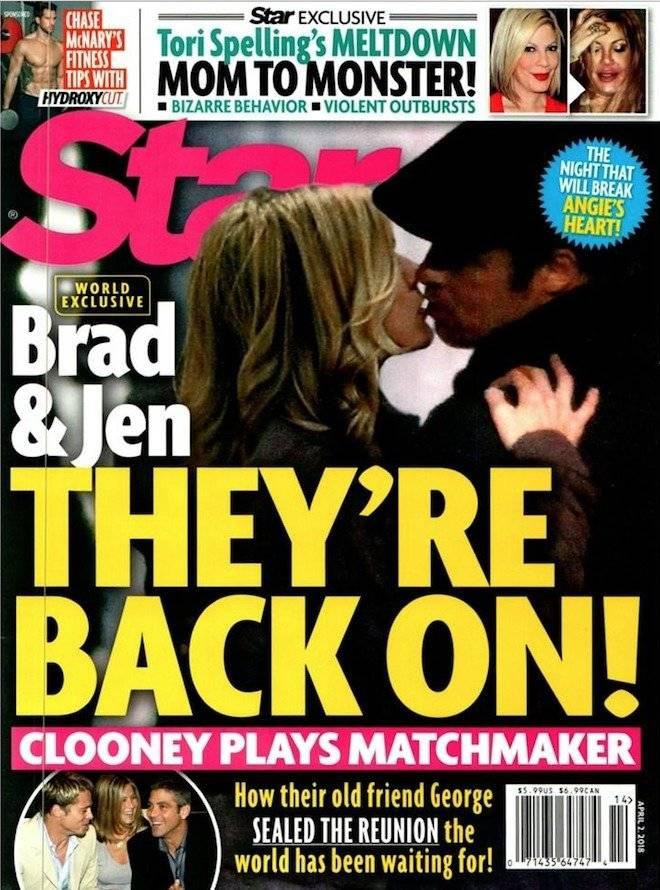 Brad y Jennifer